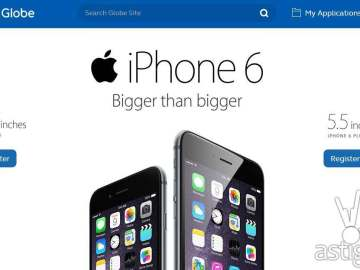 iPhone 6 & iPhone 6 Plus pre registration portal in the Philippines