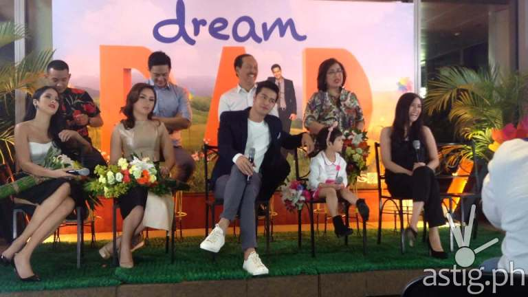 Dream Dad cast Maxene Magalona, Beauty Gonzalez, and Zanjoe Marudo