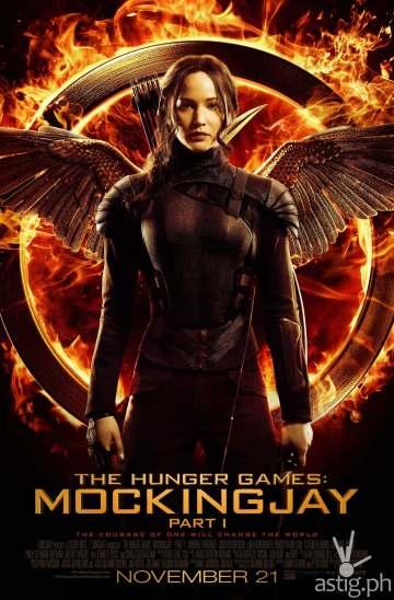 Hunger Games: Mockingjay poster
