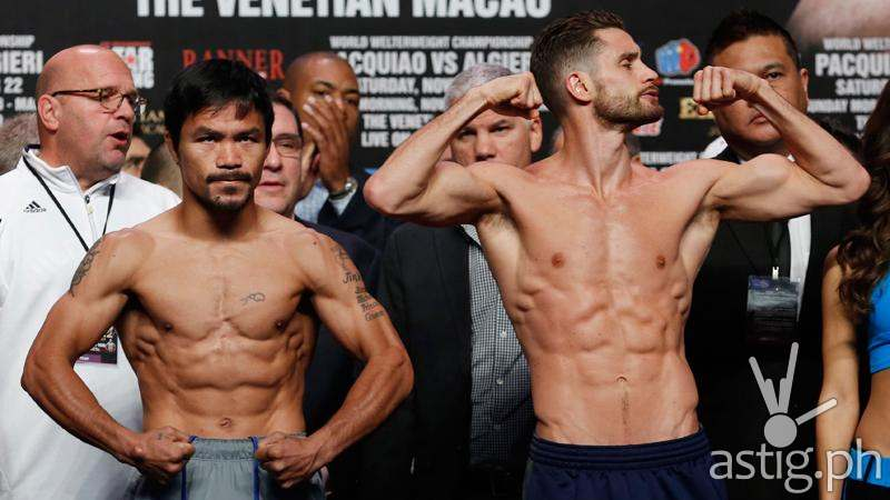 Pacquiao vs Algieri (via Inquirer.net)