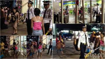 Street Kids harass and beat up mall guards