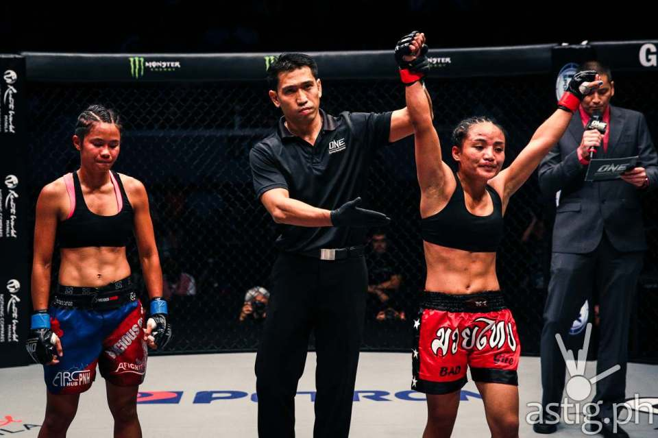 Jujeath Nagaowa (Philippines) vs Tharoth Sam (Cambodia)