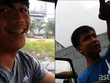 Tito Cosejo Jr. Beast Mode Driving viral video