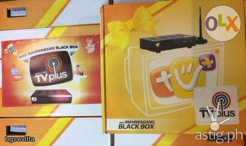 ABS-CBN TVplus mahiwagang black box (first generation)
