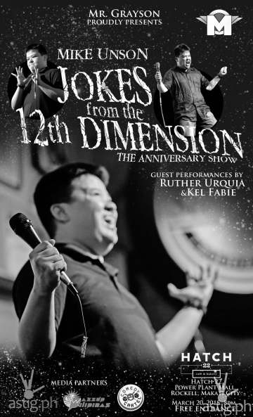 Mike Unson Jokes from the 12th Dimension The Anniversary Show