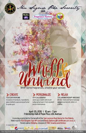 Whiff & Unwind: Whiff some fragrances, unwind your senses poster
