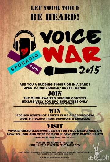 BPO VOICE WAR 2015