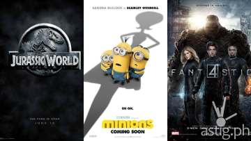 Jurassic World Minions Fantastic Four movie