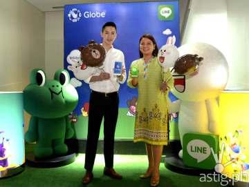 Line Globe Telecom event