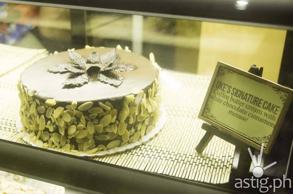 Uke's Signature Cake (PHP 185)