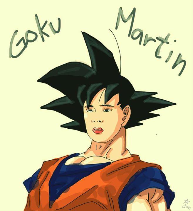 """Coco Martin as """"Goku Martin"""" (Goku)"""