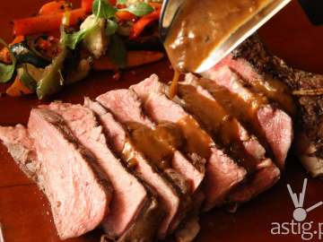 Meaty indulgence at Marriott Cafe's Carving Station