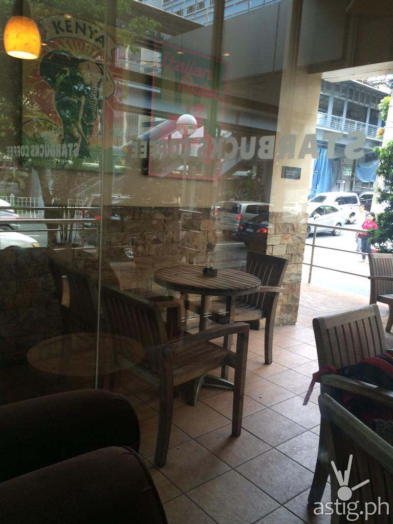 "The Starbucks Branch where the ""3 Amigas"" supposedly had their juicy conversation"