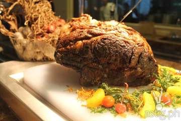 Australian Prime Rib, the Centerpiece of the Buffet at City Garden Grand Hotel Makati Spice Cafe