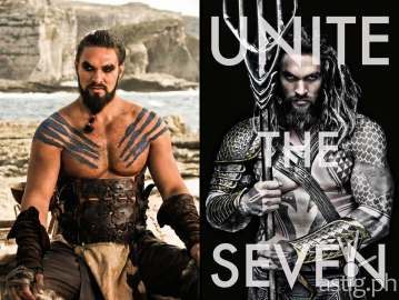 Jason Momoa Aquaman Khal Drogo Game of Thrones