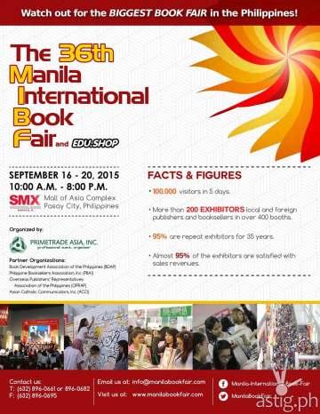 Manila International Book Fair 2015