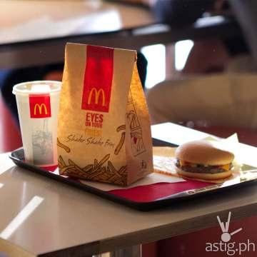 McDonalds Shake Shake Fries