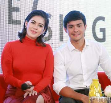 Shaina Magdayo and Matteo Guidicelli the lead stars of Cinema One's first TV series Single Single premiering this August 29
