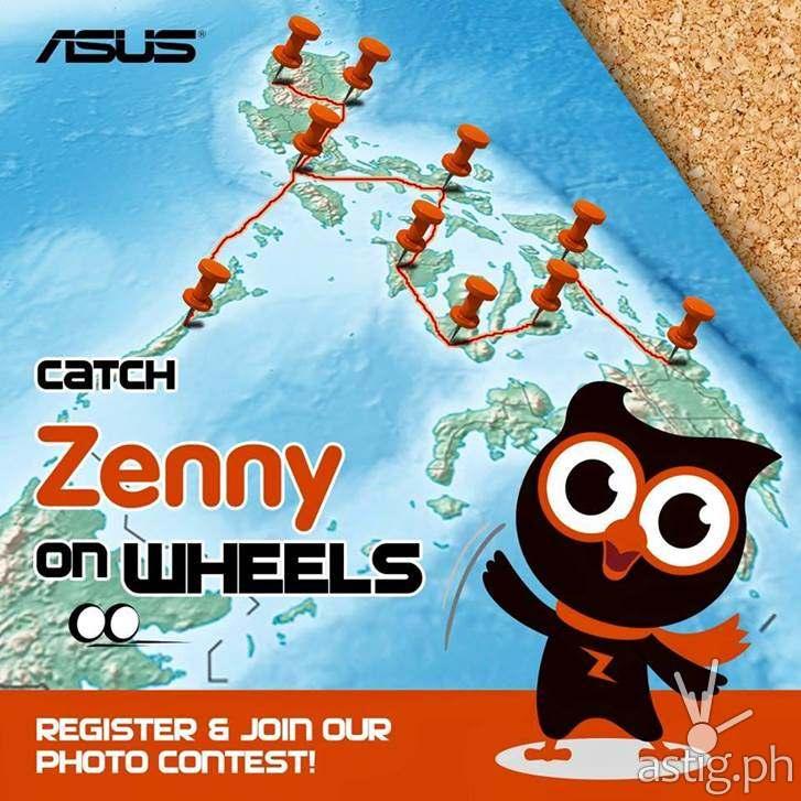 Asus Zefone Zenny on Wheels