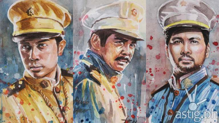 Heneral Luna watercolor paintings by Peejhey Palita