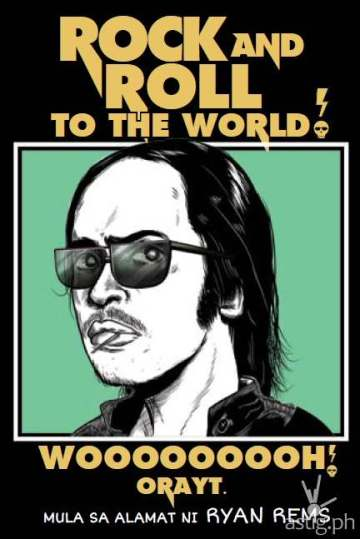 Ryan Rems book cover Rock and Roll to the World Woooooooh Orayt!