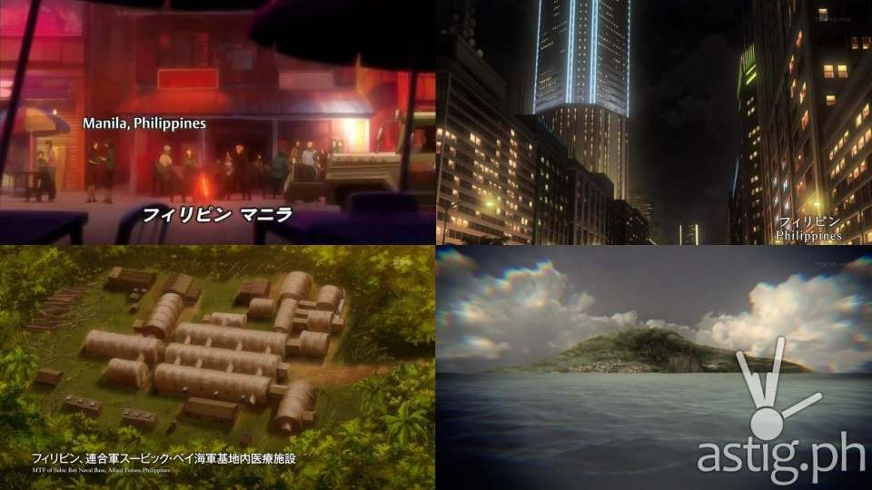 The Philippines as seen in Japanese anime (via writersavenue on Wattpad)