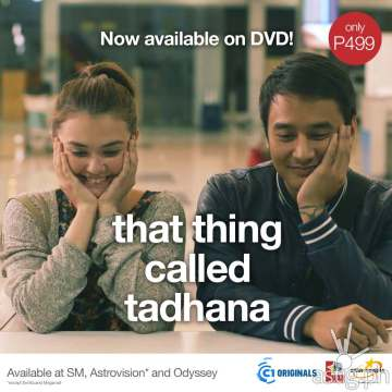 That Thing Called Tadhana DVD card