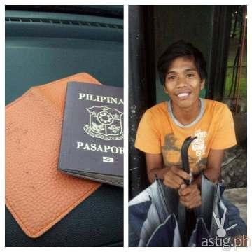francis labora lost passport