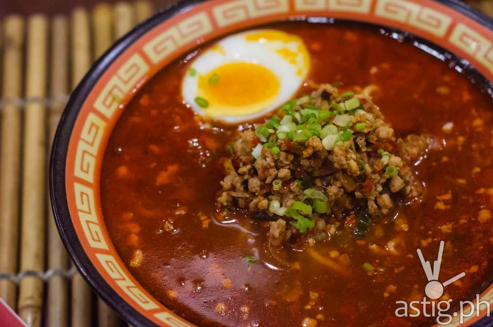 Lite-sized Mabo Ramen (198 PHP) at go-en Japanese Ramen Shoppe