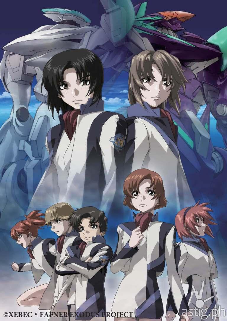 Fafner Exodus anime Animax