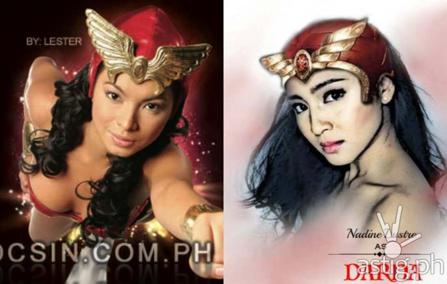 Nadine lustre or angel locsin for darna