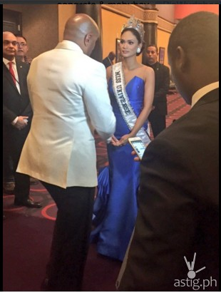 Host Steve Harvey personally apologized to Miss Universe 2015 Pia Wurtzbach