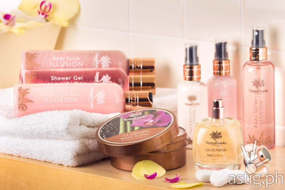 Natural Looks Bath, Shower Gel, Body Cream Collection