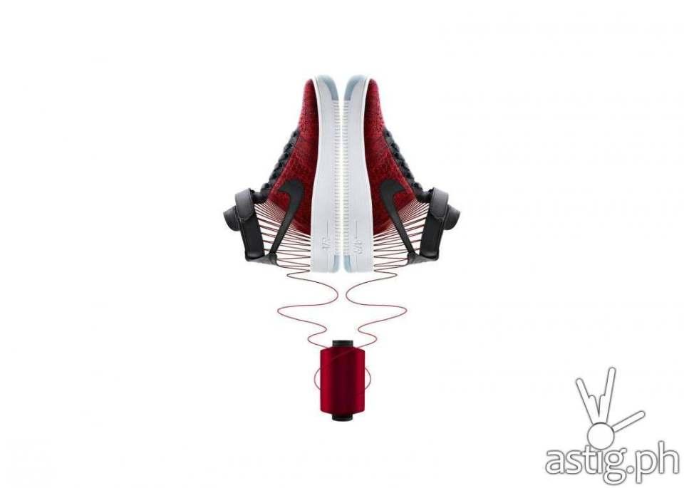 Nike Air Force 1 AF1 Flyknit (1)