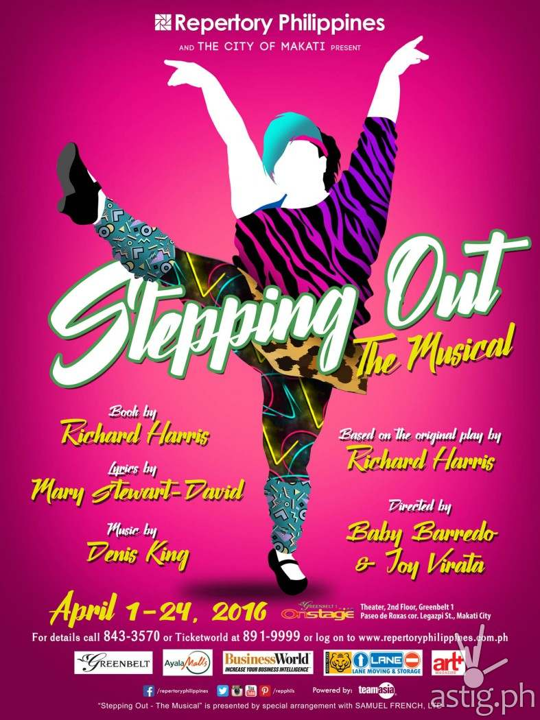 Stepping Out by Repertory Philippines