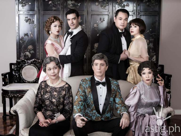 Repertory The Game's Afoot