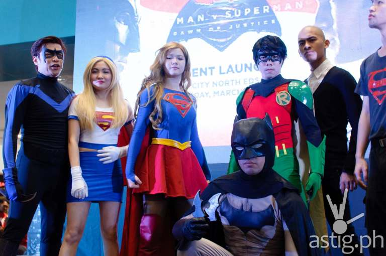 Batman v Superman Philippines launch cosplayers