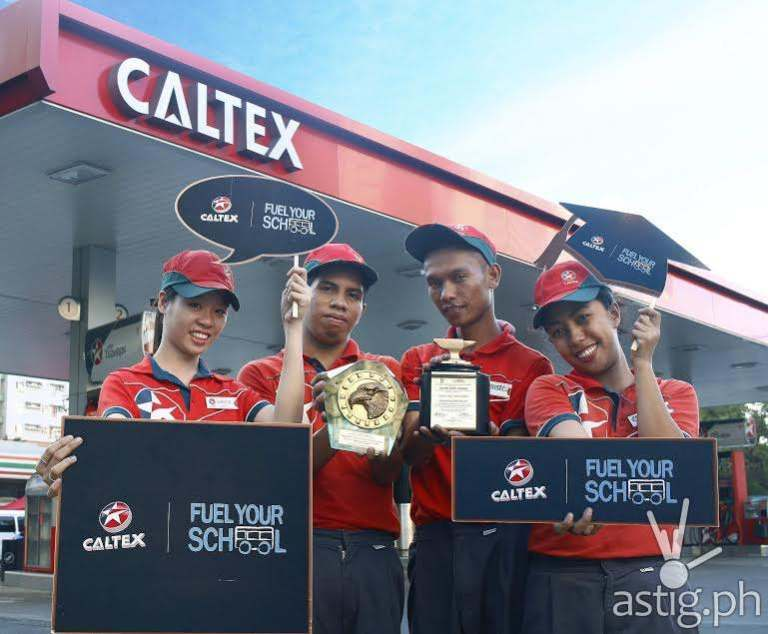 Caltex Fuel Your School