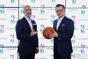 NBA CloudFone partnership