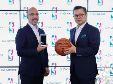NBA CloudFone partnership
