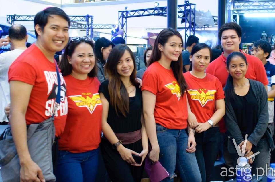 PMCM Events Team at the Media Launch of Batman v Superman held at The Block SM North EDSA