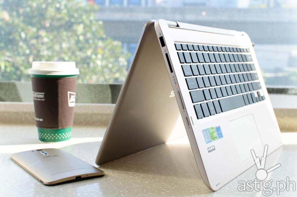 ASUS Vivobook Flip TP301UJ: 4GB RAM, 1TB HDD, 2.3 GHz Intel Core I3 CPU, NVIDIA 920M GPU