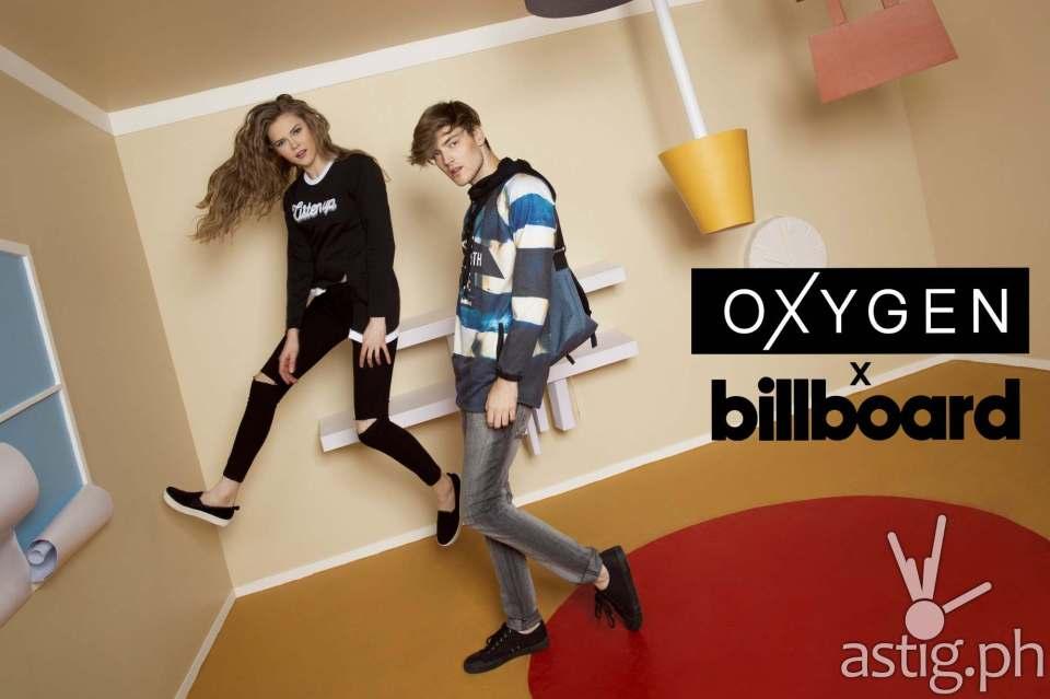 Oxygen x billboard