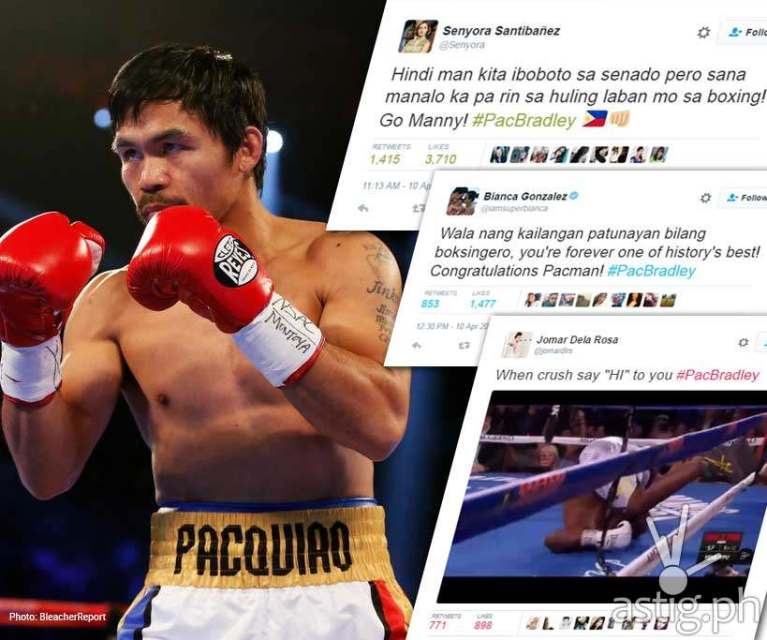Mayweather vs. Pacquiao has every celebrity in the world ...