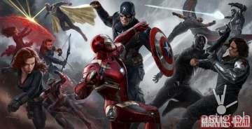 Marvel's 'Captain America Civil War' concept art by Ryan Meinerding and Andy Park, coming to theaters May 6