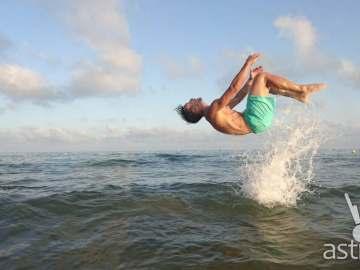 Sony Xperia Z5 Camera - Sea Jump