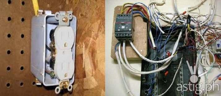 schneider electric faulty wiring 1