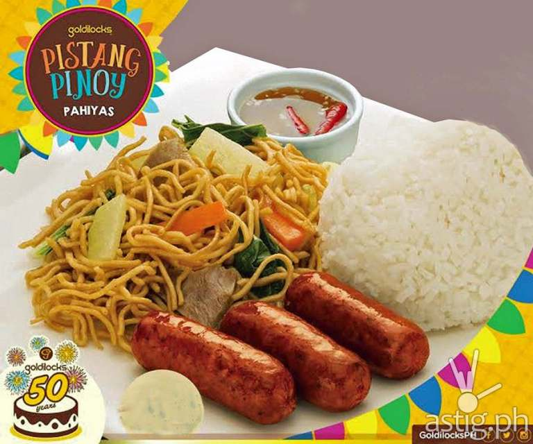 Taste the Goodness of a Filipino Fiesta by Goldilocks