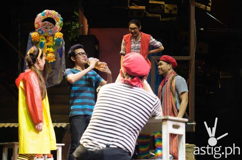 Rak of Aegis is so dynamic that they even invite members of the audience to join them onstage