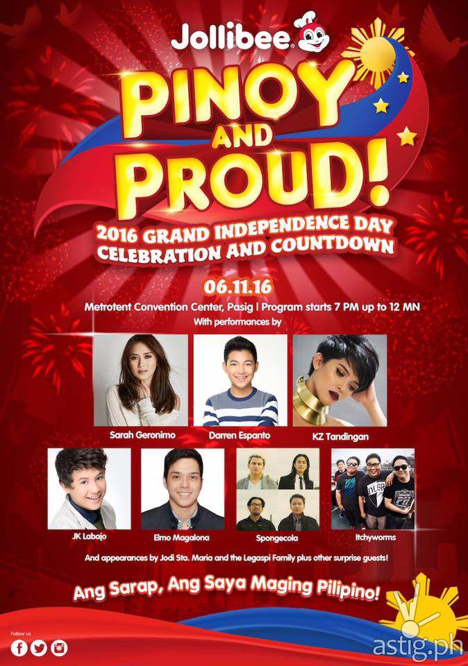 Pinoy and Proud! concert poster